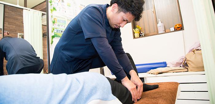当院では身体を総合的にみる事で、つらい症状が根本から改善します