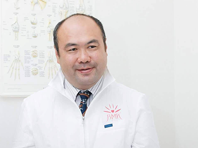 全日本学会認定鍼灸師 國分俊明先生