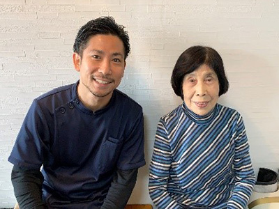 城東区 岩佐節子さん 85歳 女性